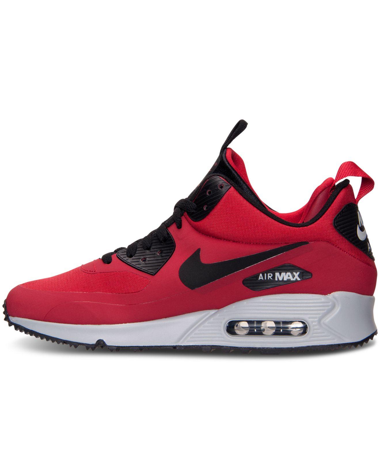 e09b1e79609 1320 x 1616 www.lyst.com. Nike Men  39 s Air Max 90 Mid Winter Casual  Sneakers ...