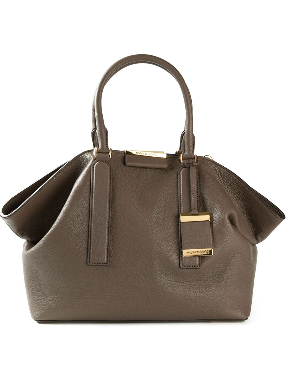 Michael Kors Large Lexi Tote Bag in Brown
