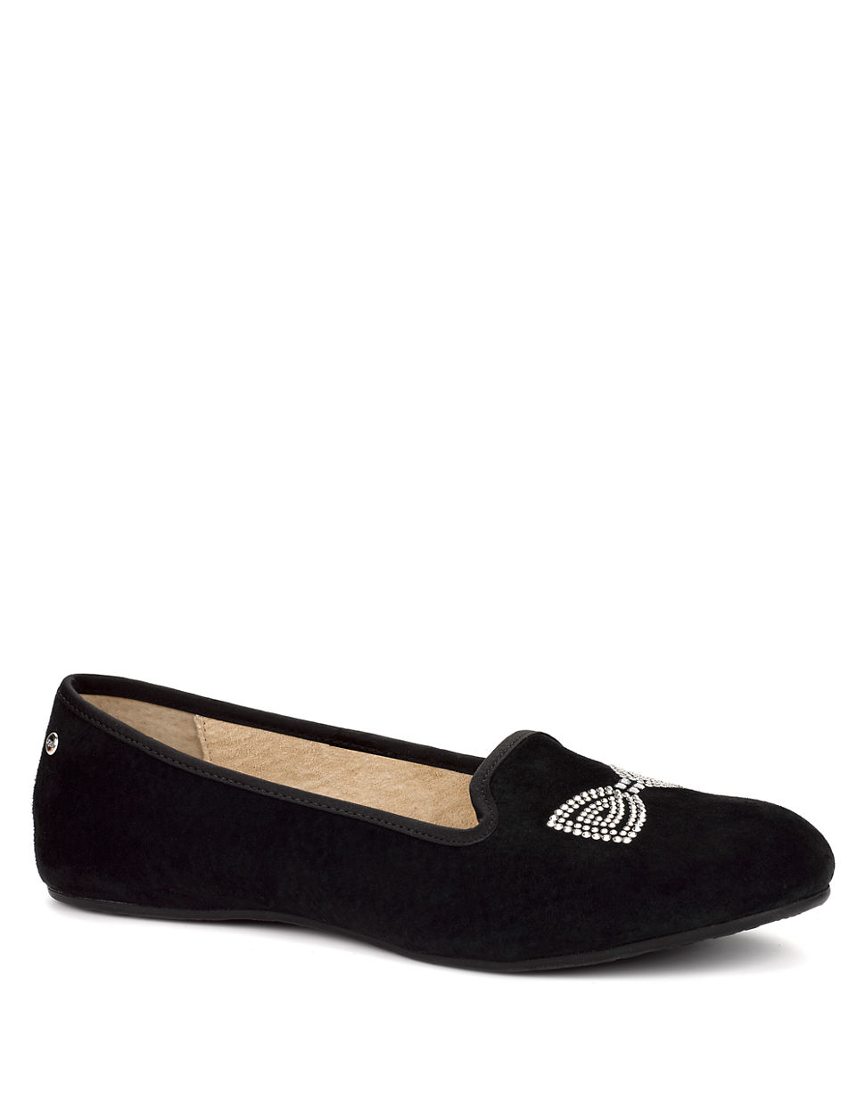 a78385eeca6 Ugg Alloway Crystal Bow Black