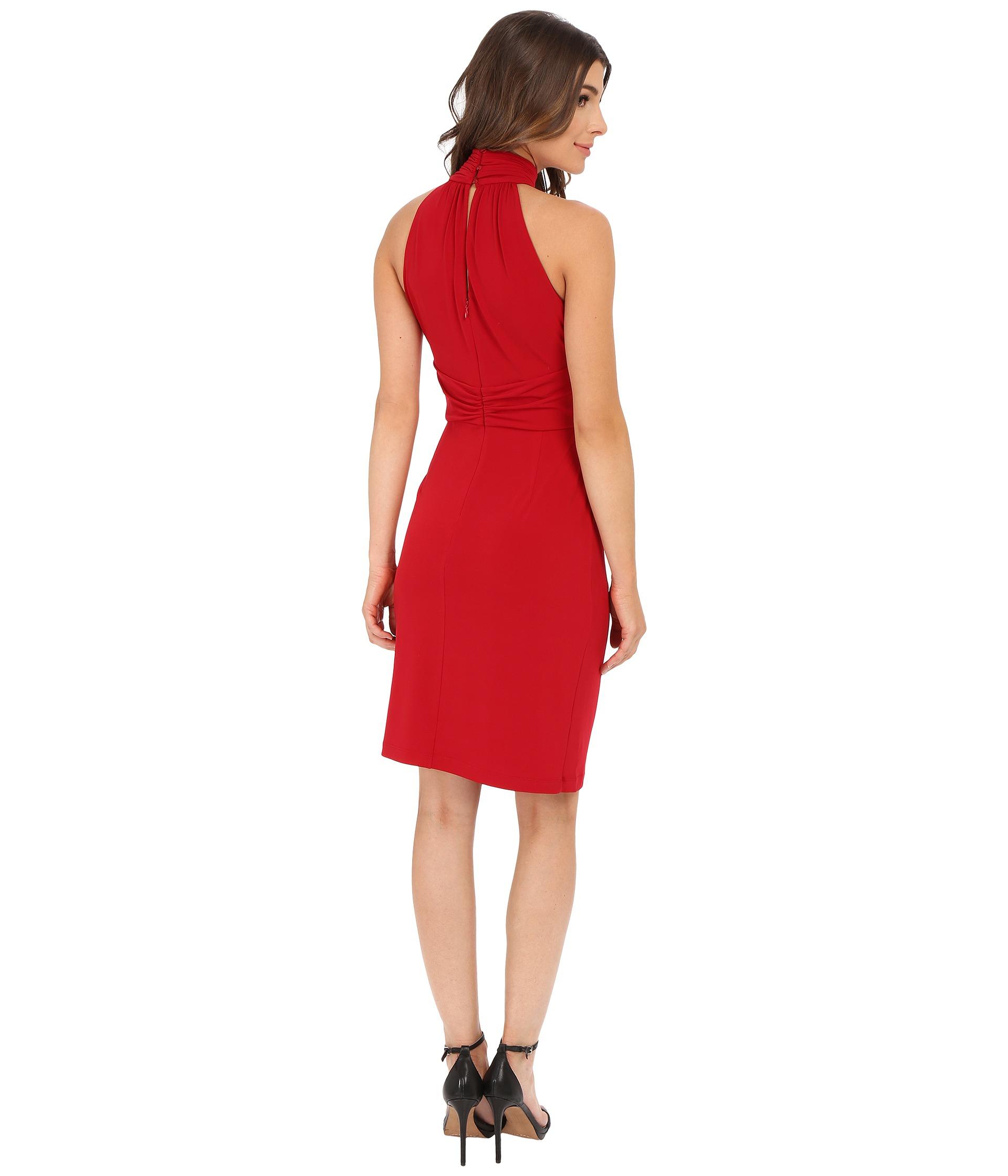 Catherine Malandrino Jazz Dress In Red Lyst