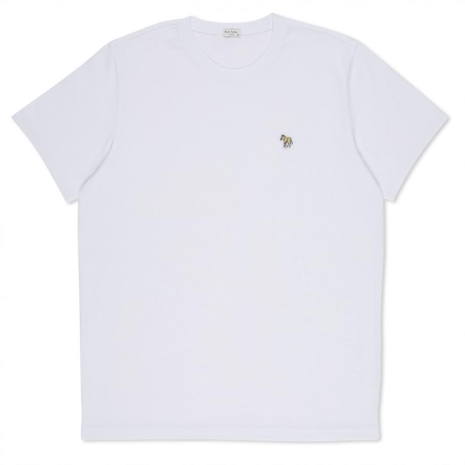 Lyst Paul Smith Shirts White Zebra Logo Organic Cotton
