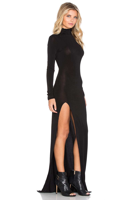 elizabeth and james lana maxi dress in black lyst. Black Bedroom Furniture Sets. Home Design Ideas