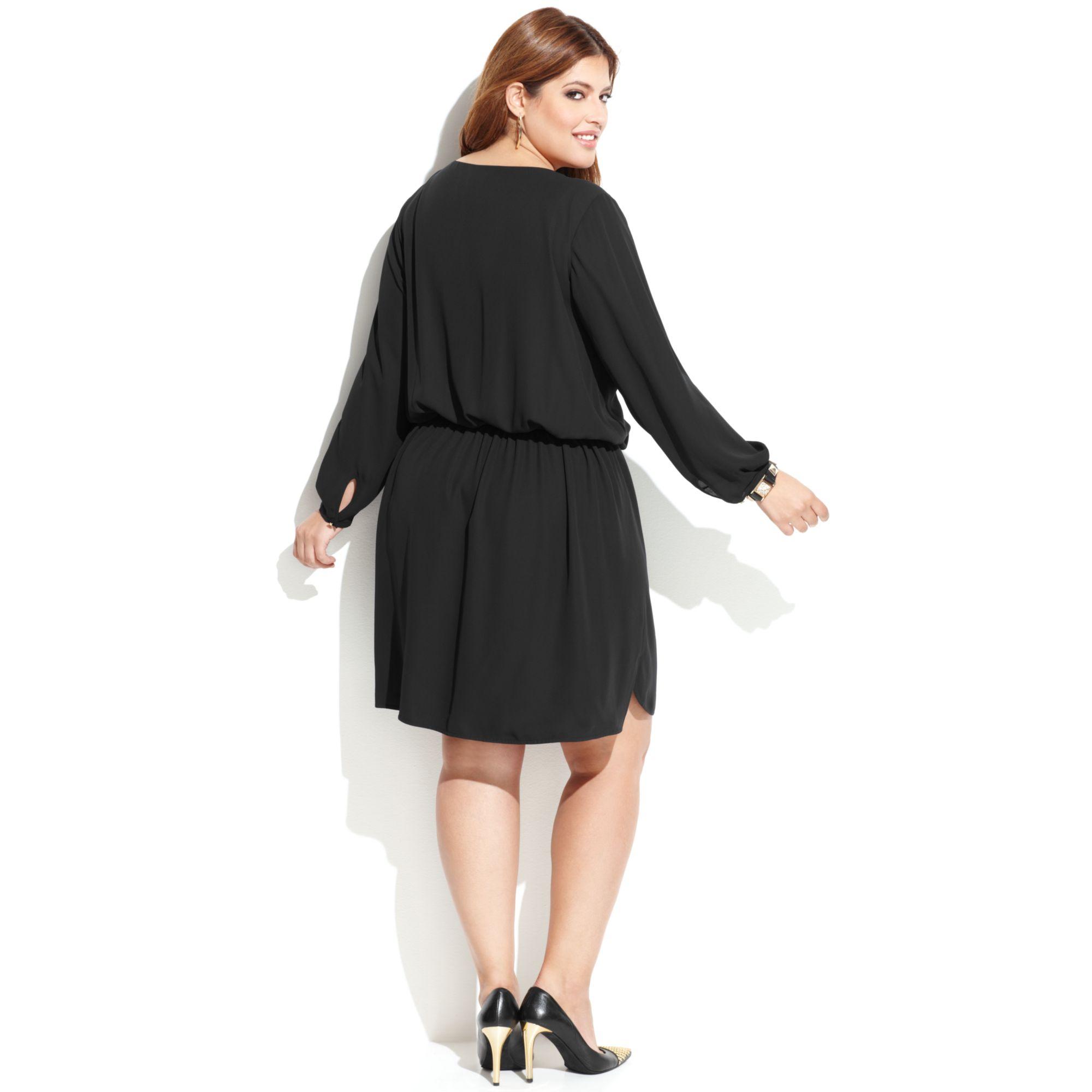 blouson dress plus size images - dresses design ideas
