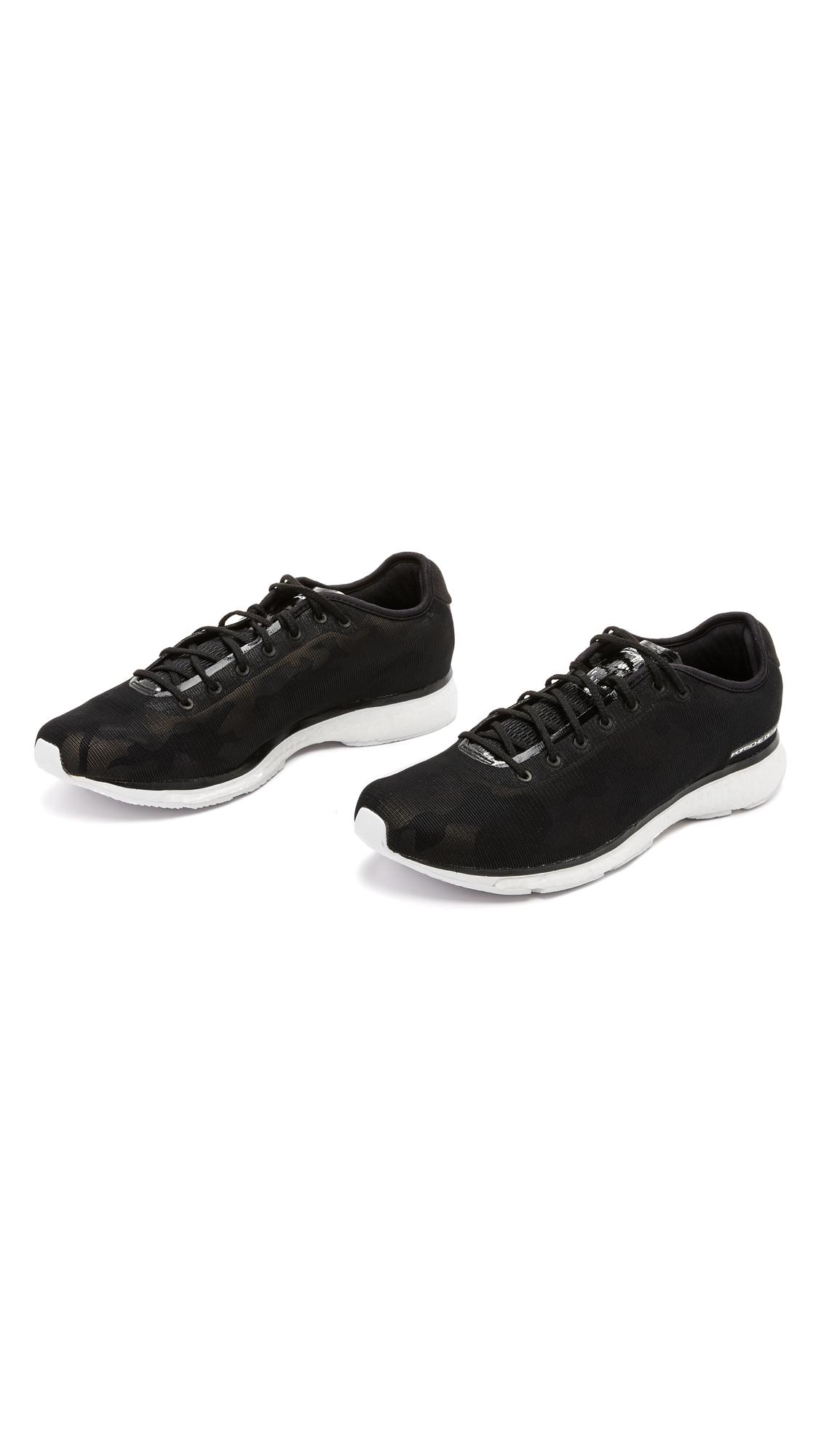 porsche design endurance sneakers in black for men lyst. Black Bedroom Furniture Sets. Home Design Ideas