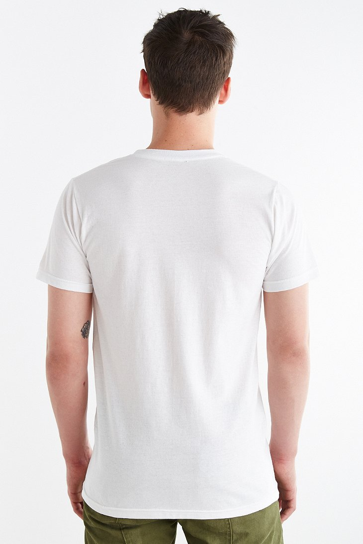 Design by humans Take Off Tee in White for Men   Lyst