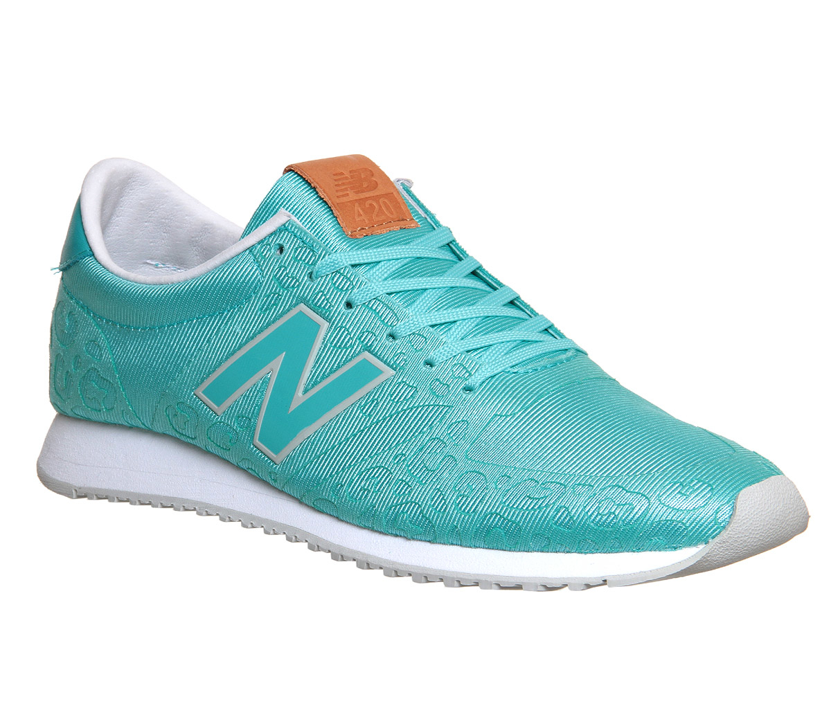 a2af0b197e02 ... where to buy lyst new balance 420 embossed mesh low top sneakers in blue  65056 7da77