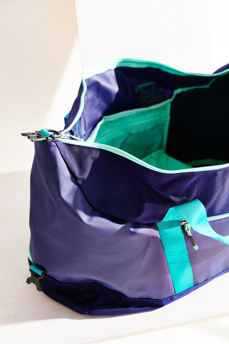 6055718906 ... Lyst - The North Face Apex Gym Duffel Bag in Purple great fit 6f81a  36cec ...