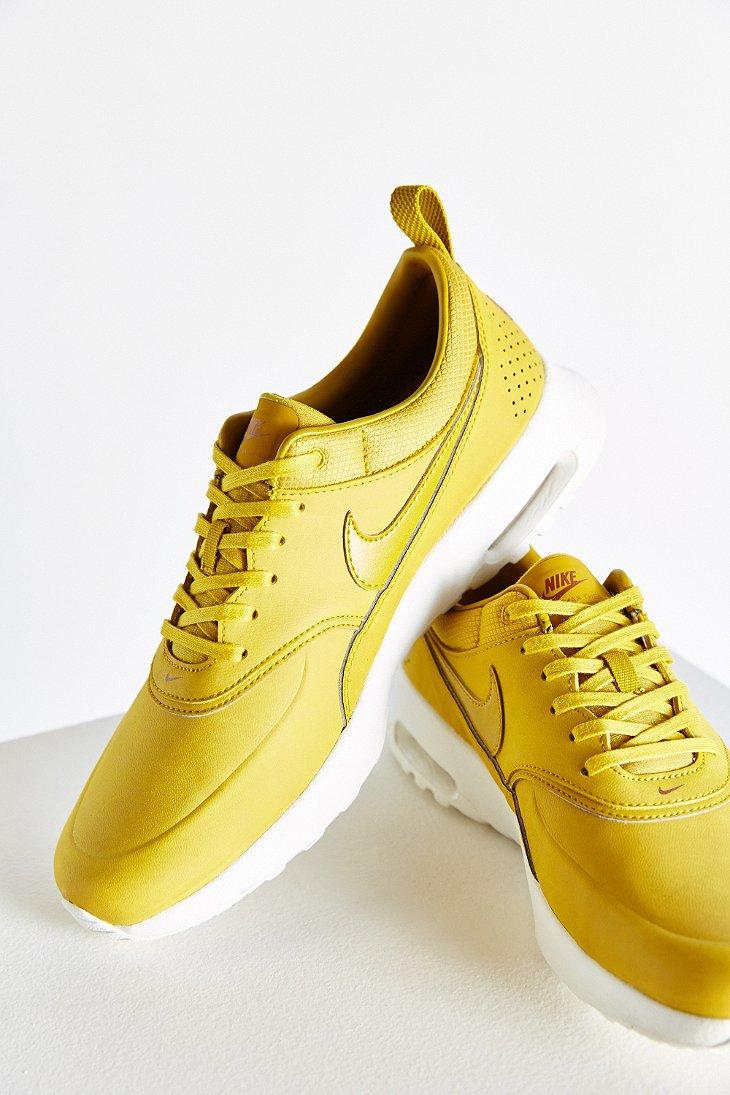 pretty nice 3939d 7f4a8 Women's Yellow Air Max Thea Premium Sneaker