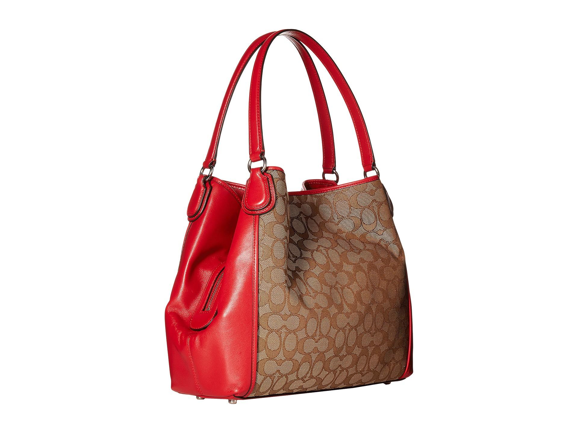 ... Lyst - Coach Signature Edie 31 Shoulder Bag in Natural wholesale dealer  70e2f f3a85 ... f4641b063183e