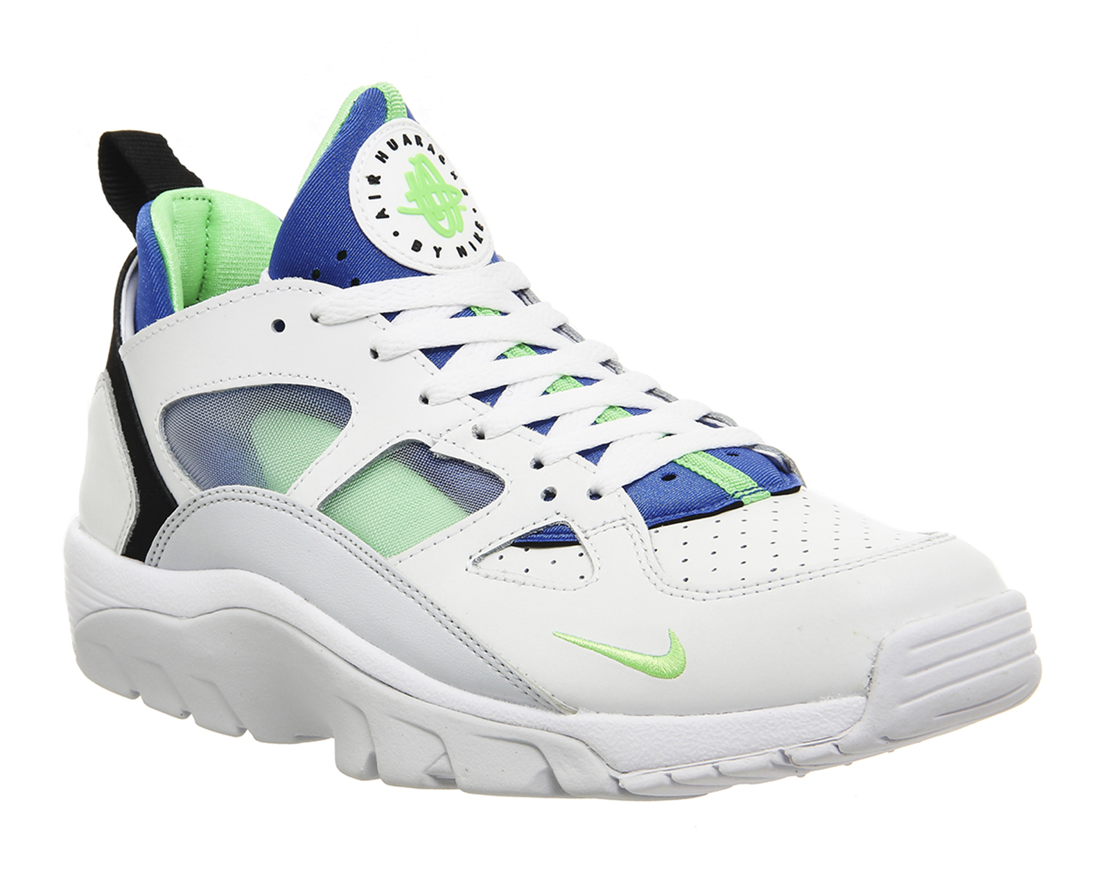 lyst nike air trainer huarache low in white for men. Black Bedroom Furniture Sets. Home Design Ideas