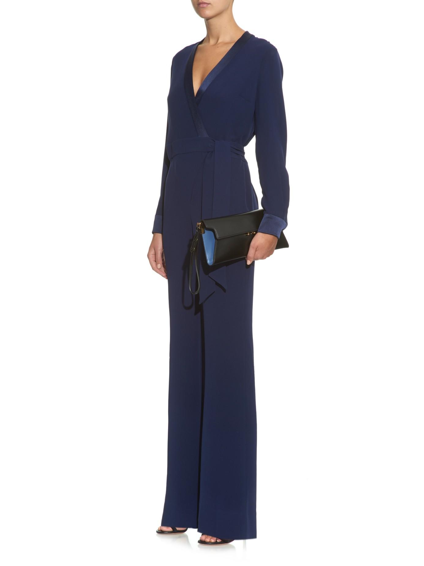 73964f467a5 Gallery. Previously sold at  MATCHESFASHION.COM · Women s Diane Von  Furstenberg Arabella Women s Olive Jumpsuits ...