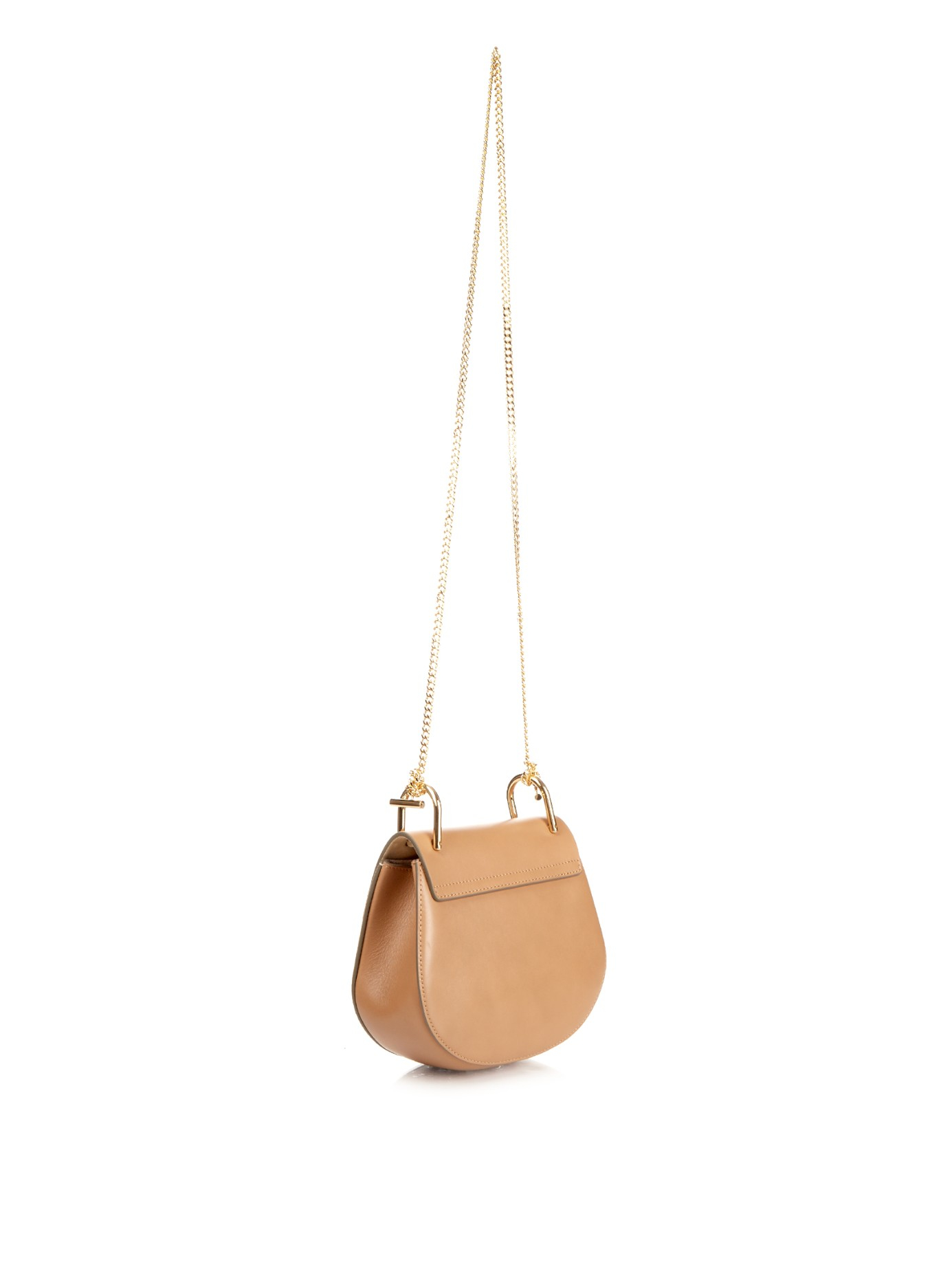 fake chloe purse - Chlo�� Drew Mini Leather and Suede Cross-Body Bag in Brown (TAN ...