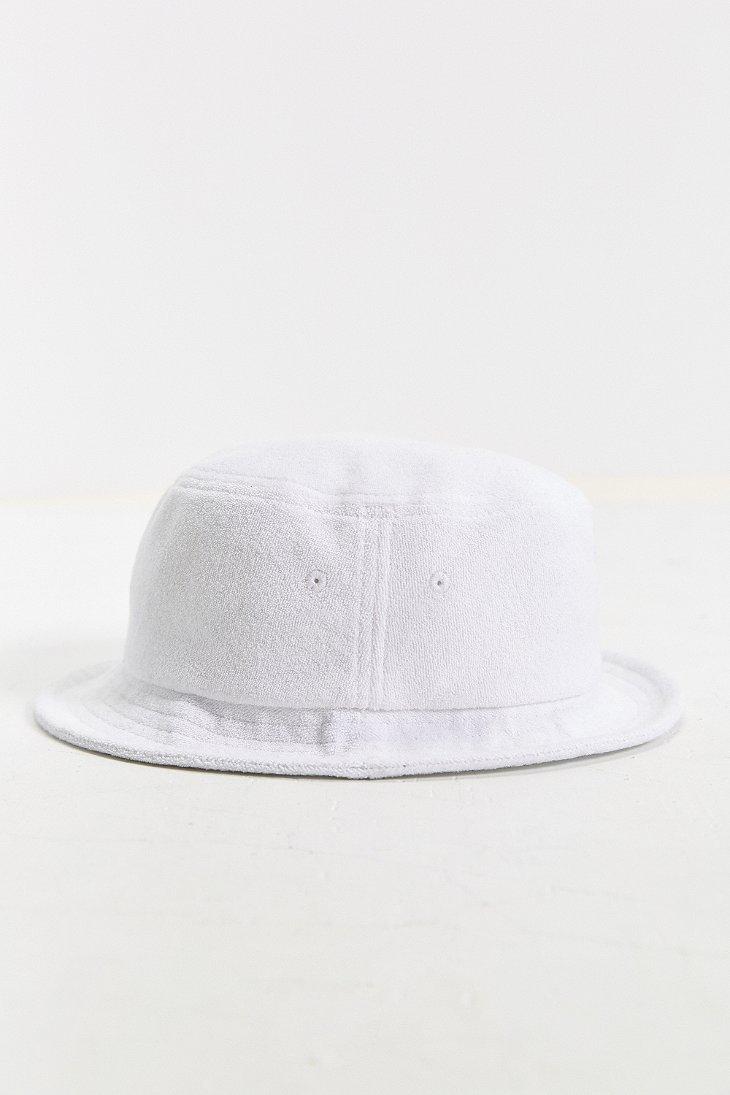 22dc97da84e Lyst - Stussy Terry Stock Lock Bucket Hat in White for Men