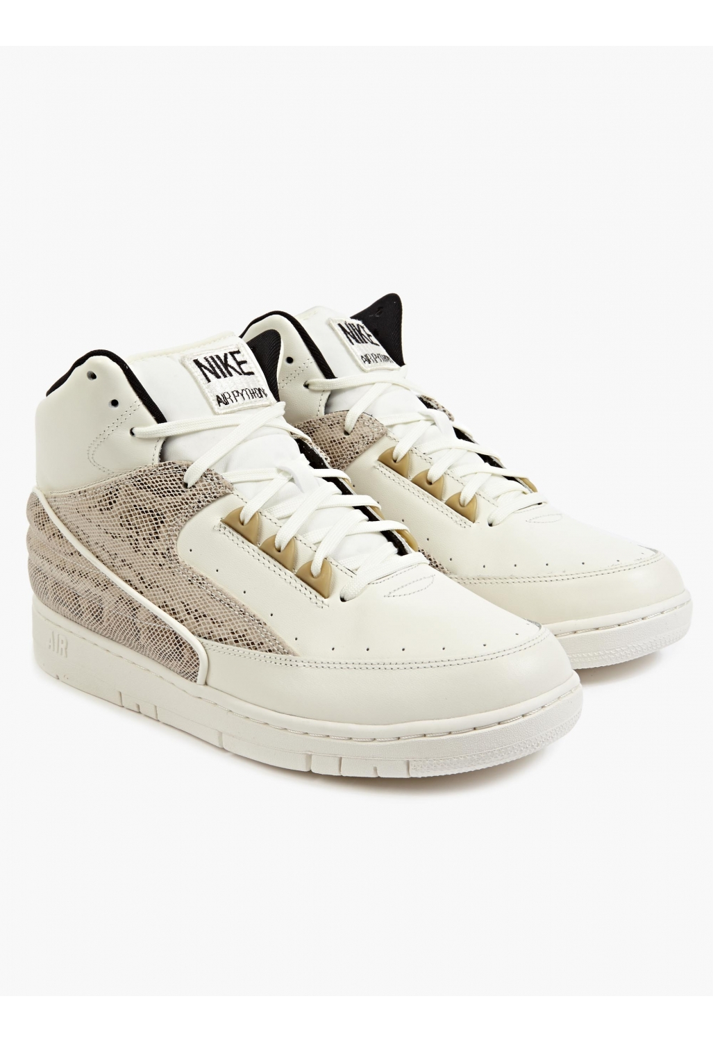 Nike Men'S Off-White Air Python Sneakers in Natural for ...