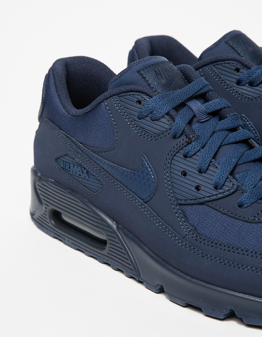 cafe12485c1a Lyst - Nike Air Max 90 Essential in Blue for Men