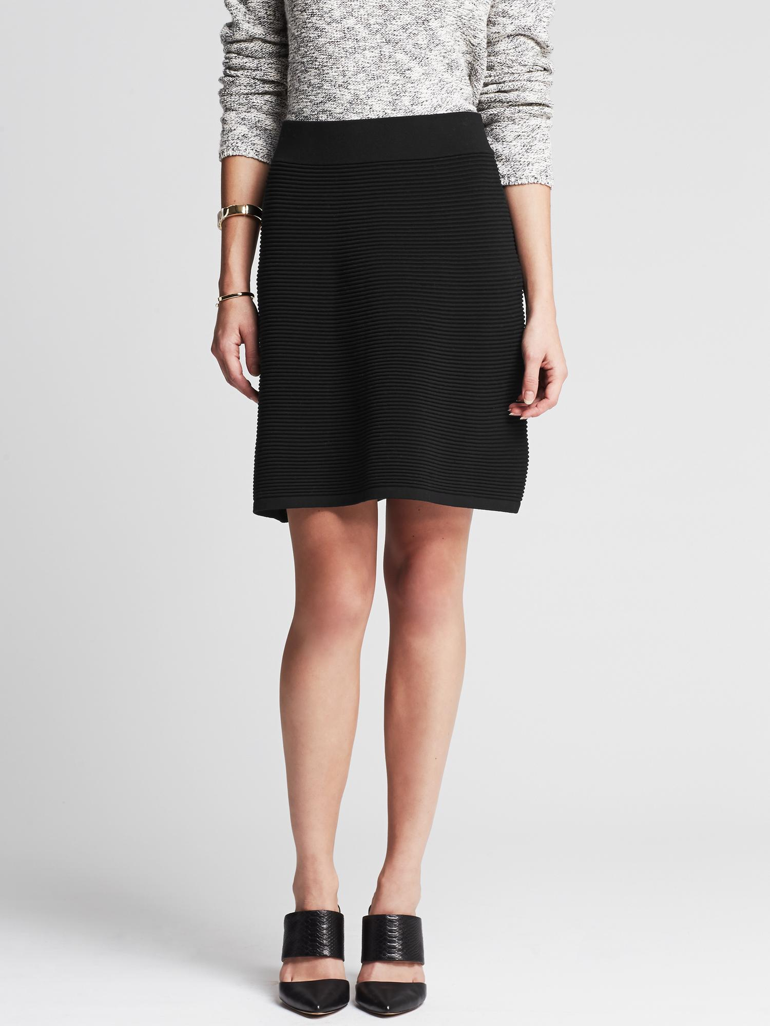 Black Sweater Skirt 54