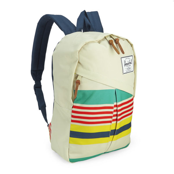 Herschel Supply Co. Parker Malibu Stripe Backpack in Natural for Men