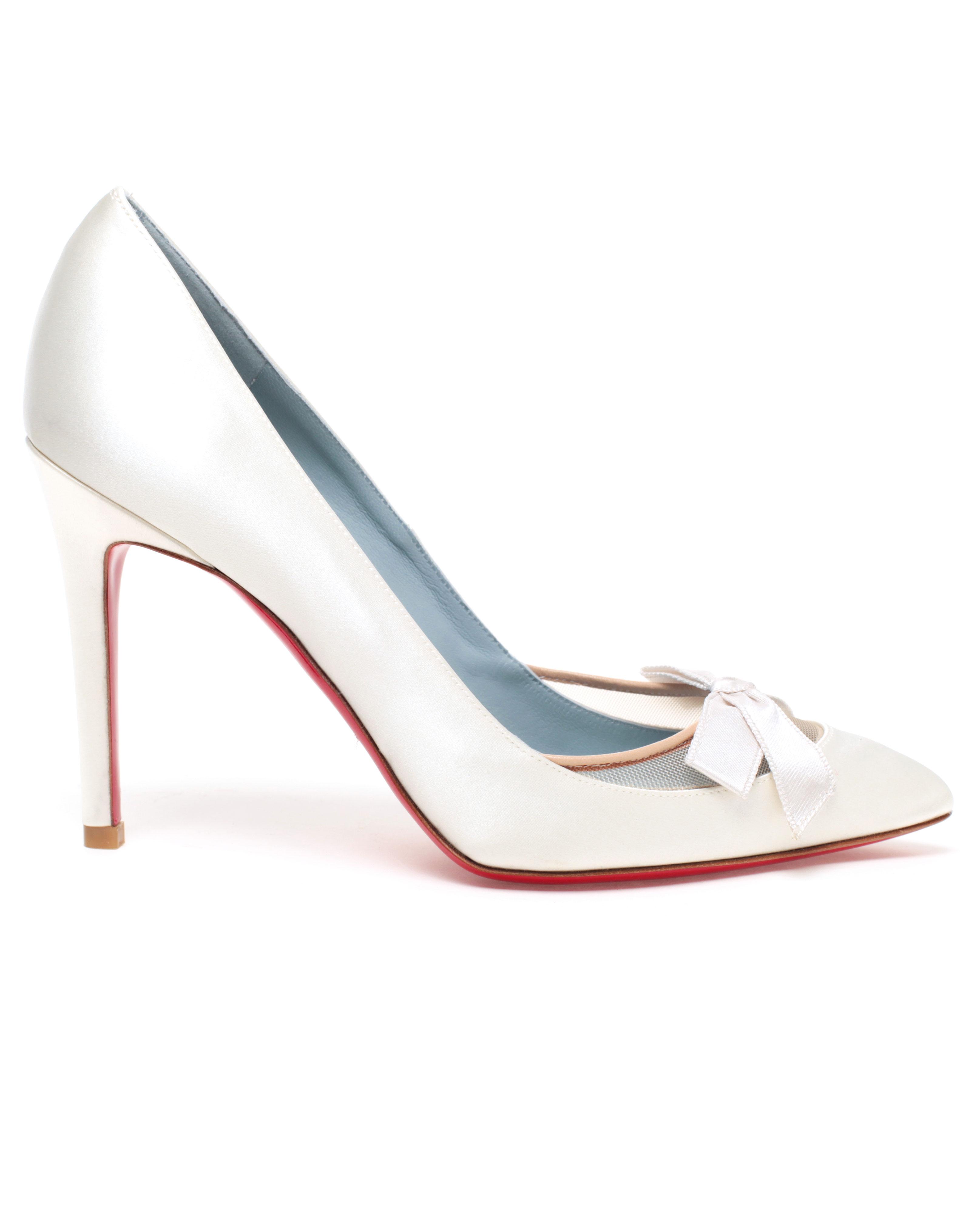 e9ecad5c077 Christian Louboutin Love Me Bridal Shoes in White - Lyst