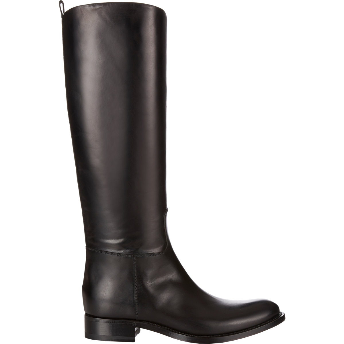 Sartore Pull-on Riding Boots in Black | Lyst