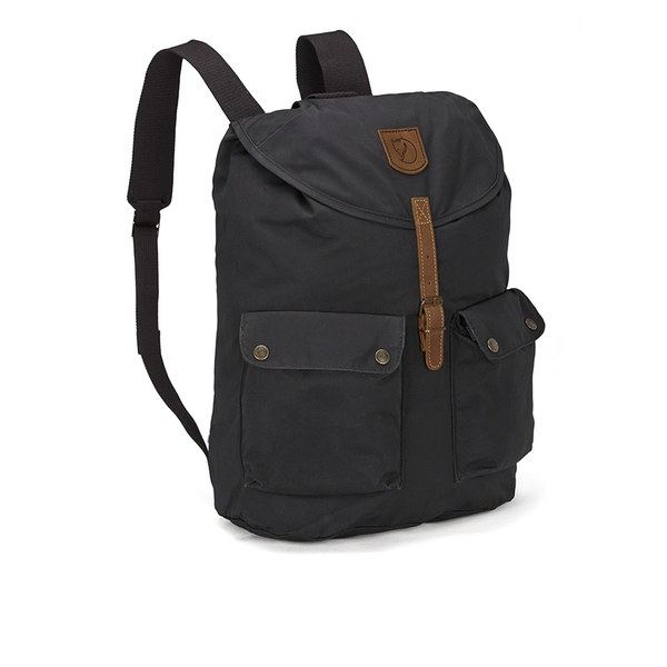 fjallraven greenland backpack in black