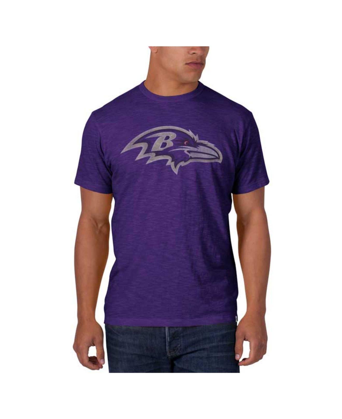 47 brand Men's Baltimore Ravens Logo Scrum T-shirt in Purple for ...