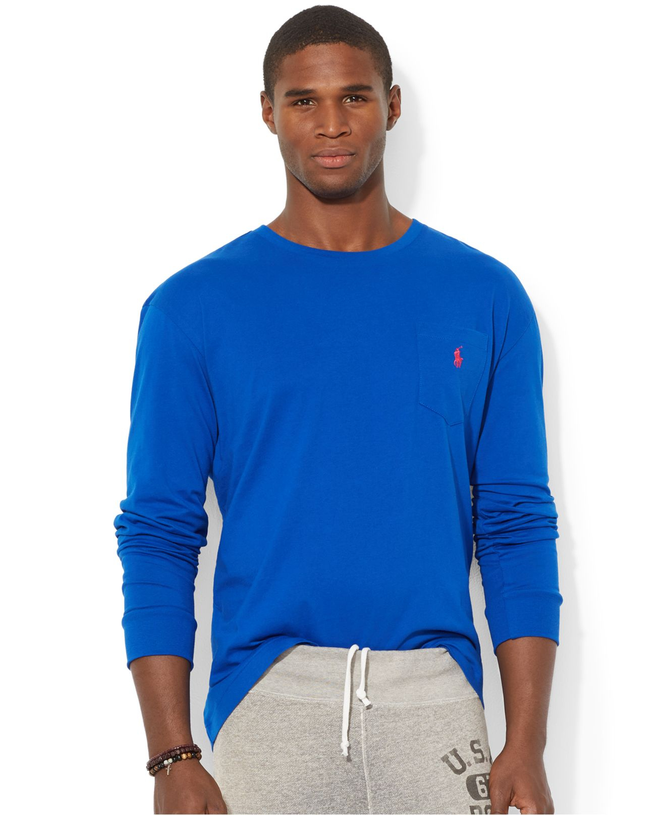 Lyst Polo Ralph Lauren Classic Fit Long Sleeved Jersey