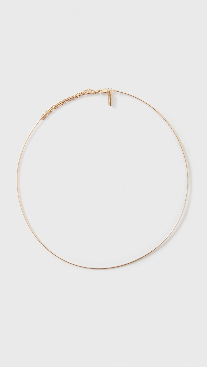 Edie Parker 14k Wire Choker Necklace z7OFkL