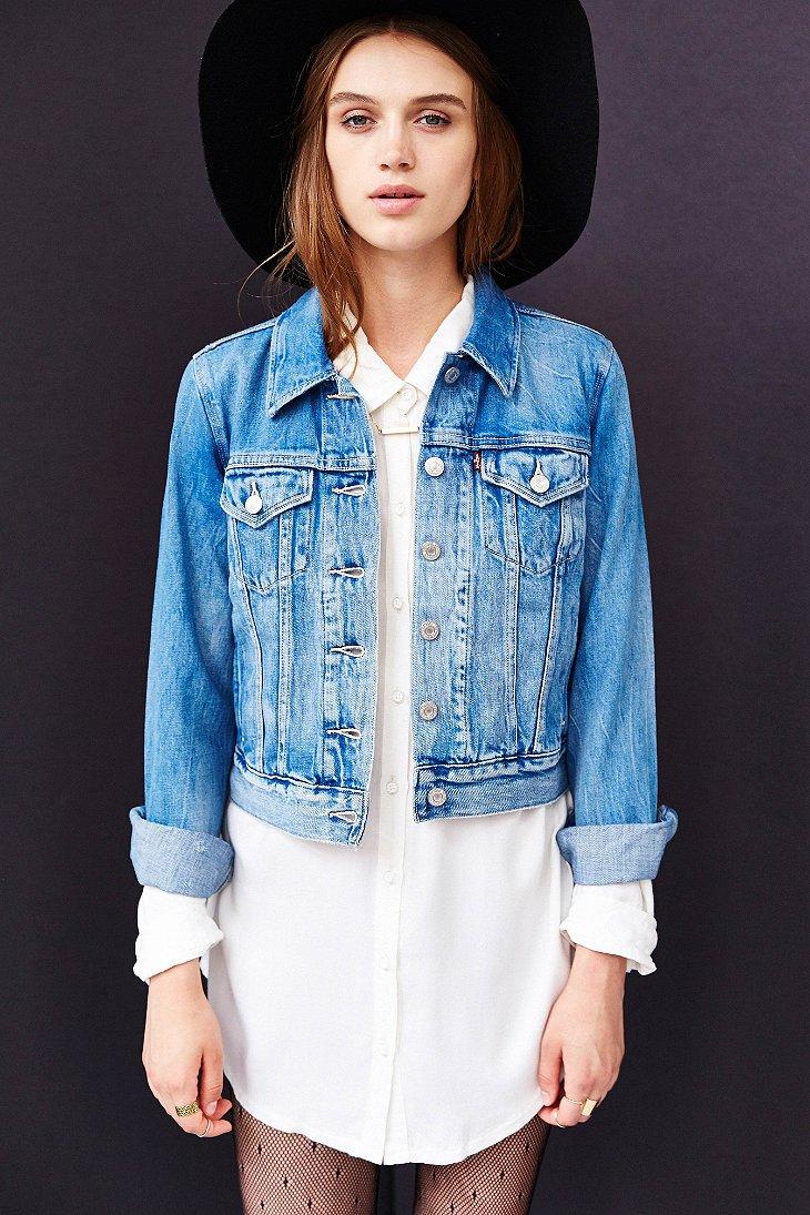 Levi jean jackets for women