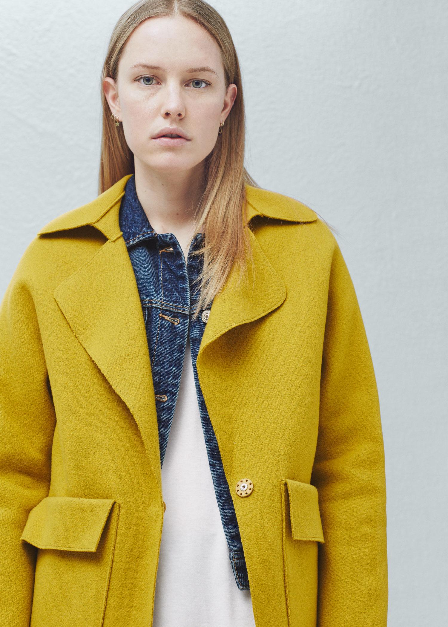 Medium Designer ANINE BING Women/'s LEANDRA Military Jacket UK 12