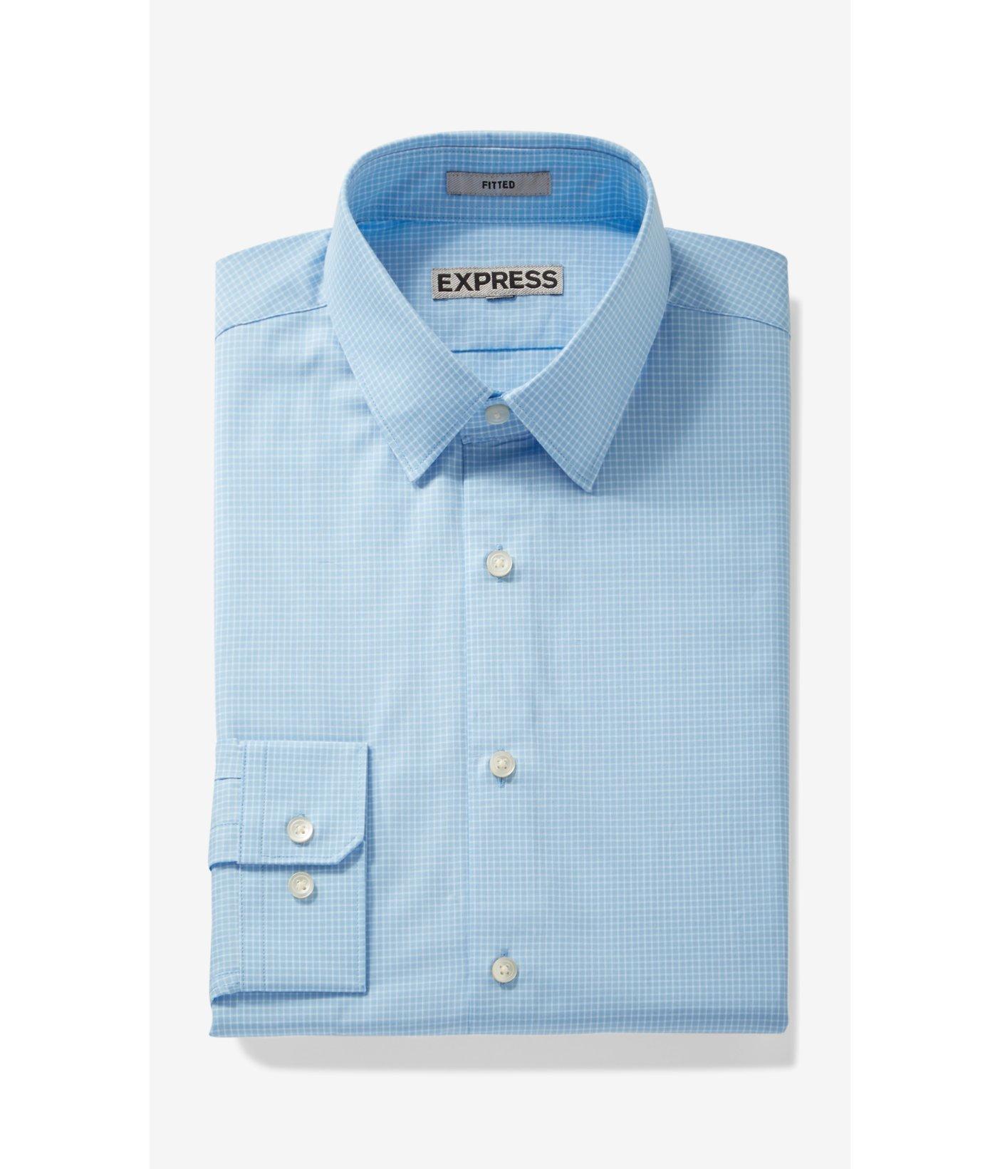 windowpane dress shirt