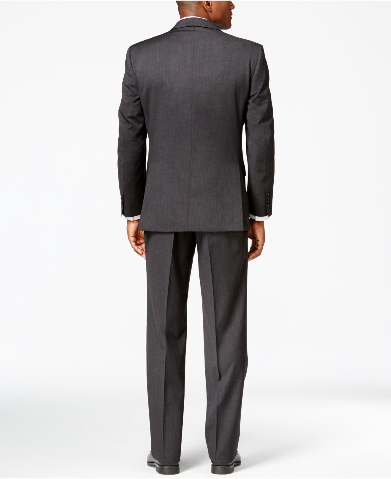 Jones new york Charcoal Athletic-fit Suit in Gray for Men ...