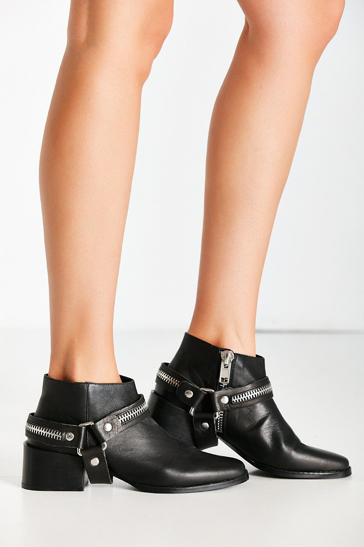 Sol Sana Eddie Ankle Boot In Black Lyst