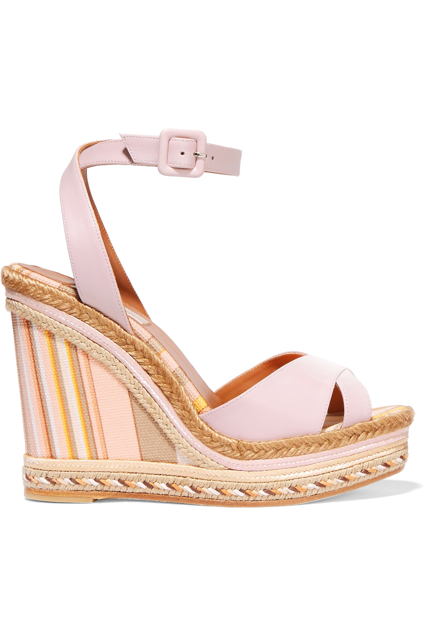 brand new unisex websites Valentino Canvas Slingback Wedges clearance latest collections free shipping very cheap 8pfwq