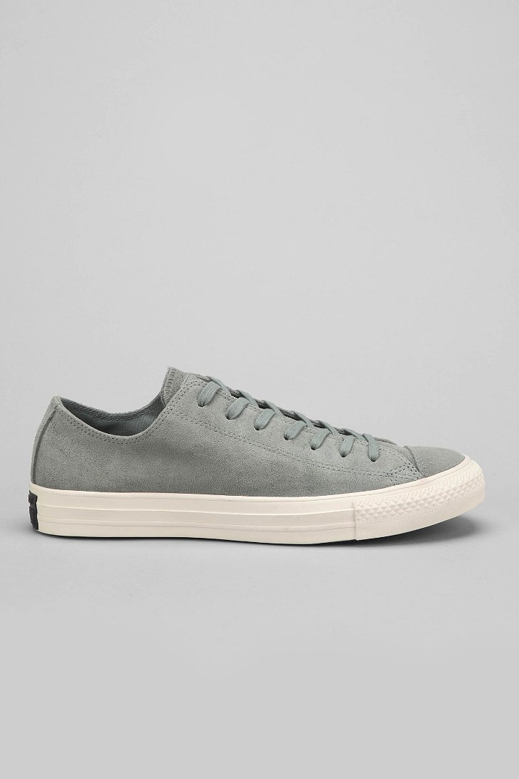 54c94d832db848 Lyst - Converse Chuck Taylor All Star Burnt Suede Low-Top Men S ...