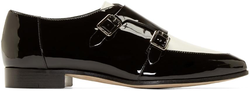 Shoes Black White Bow Coast