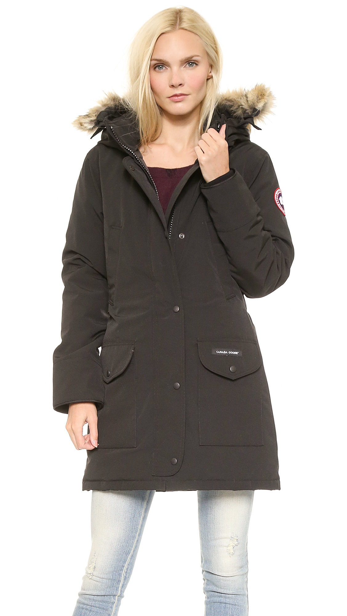 Canada Goose vest replica cheap - Canada goose Canada Goose - Military Green in Black | Lyst