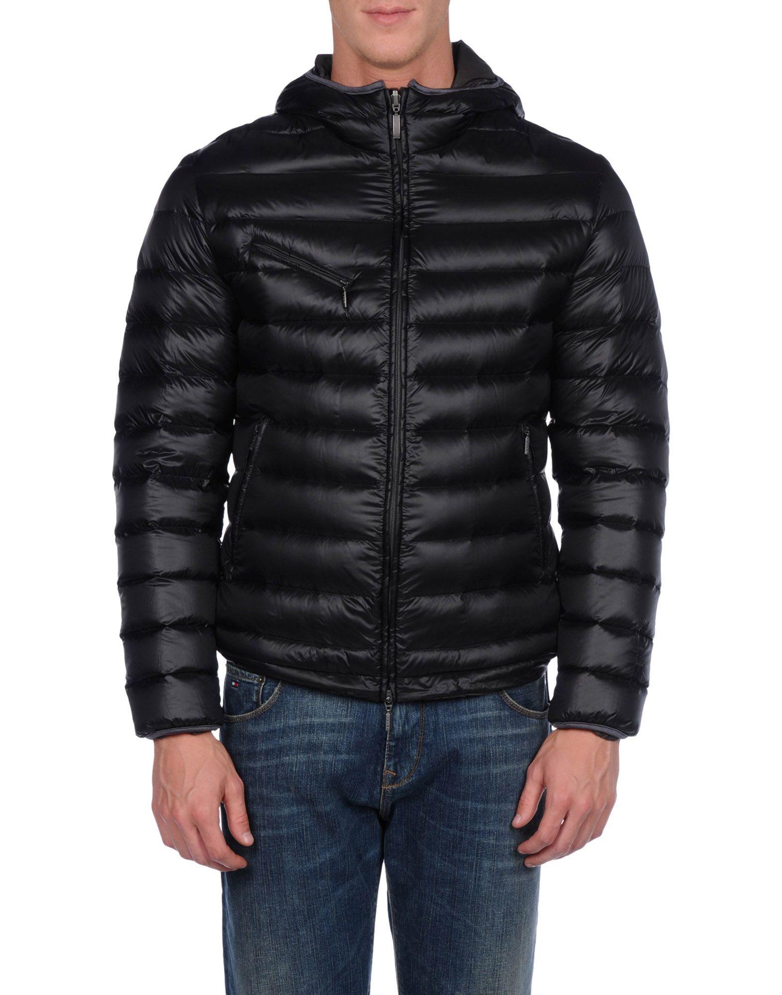 Brema Goose Down Jacket in Black for Men