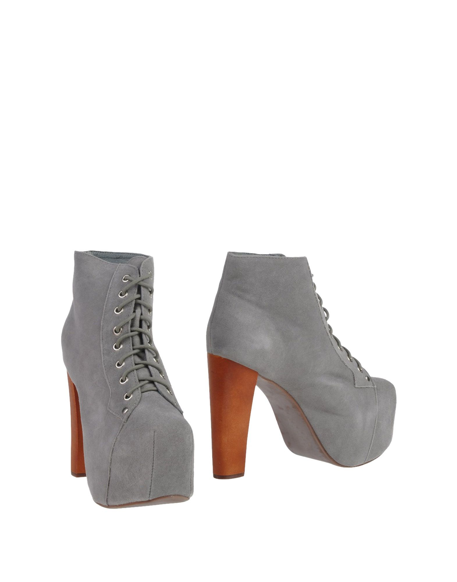 jeffrey cbell ankle boots in gray lyst