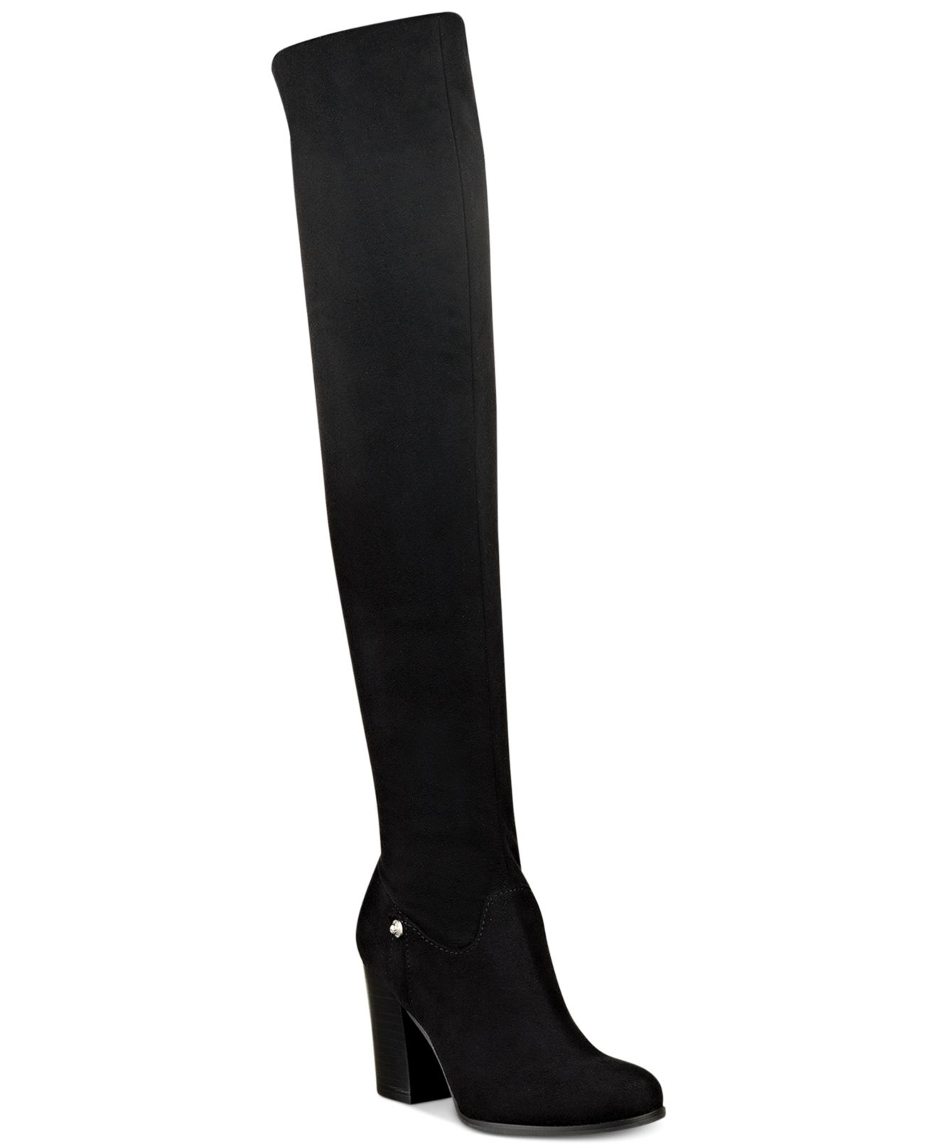 a5542d21fa9 Lyst - Guess Dandra Convertible Over The Knee Boots in Black