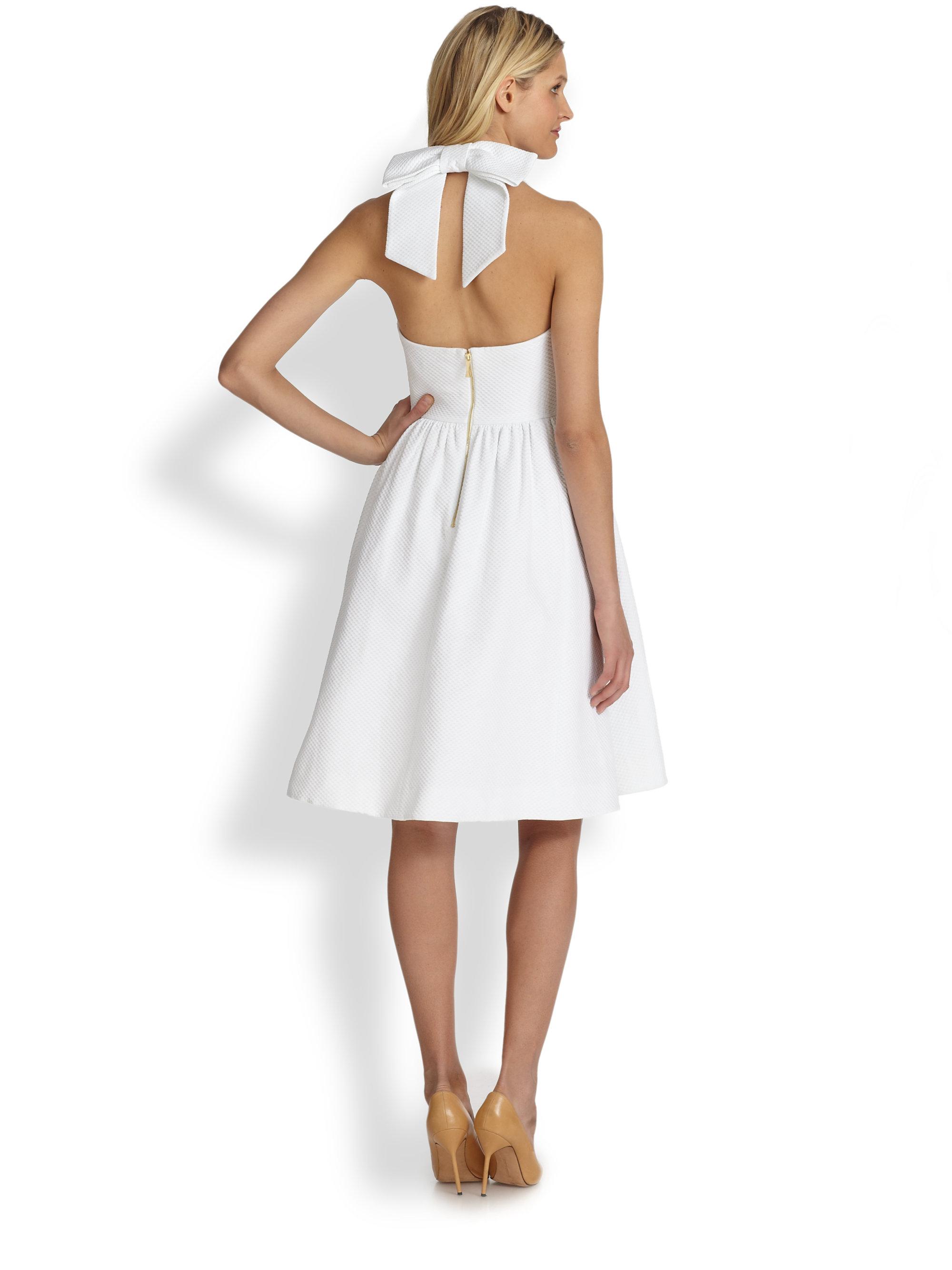 Kate Spade Hampton Dress In White Lyst