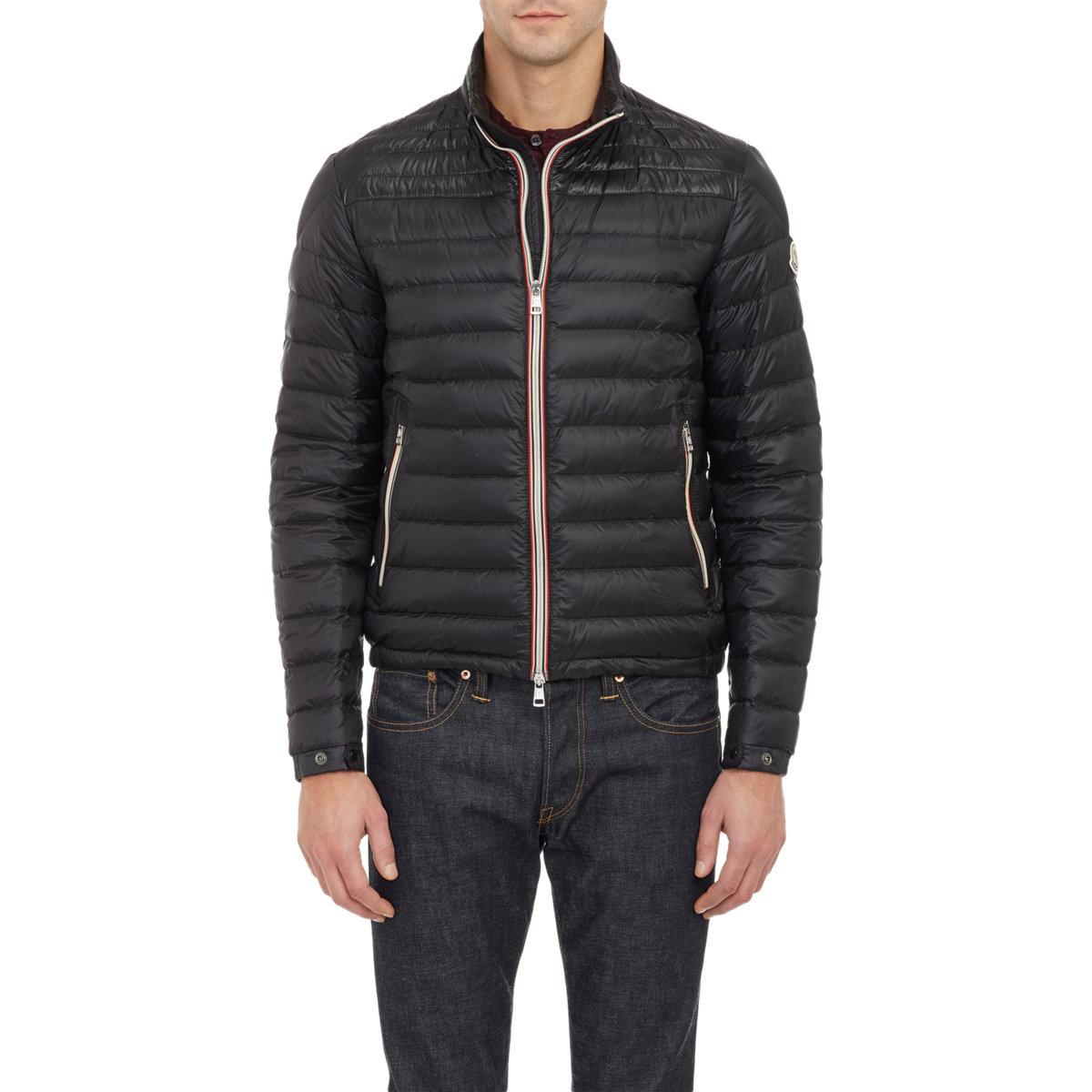 moncler daniel padded jacket black