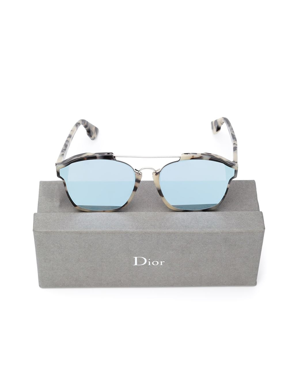 37301a7813 Dior  abstract  Sunglasses in Blue - Lyst