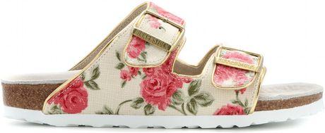 New Trending BirkenstockInspired Sandals  FloralampStripes