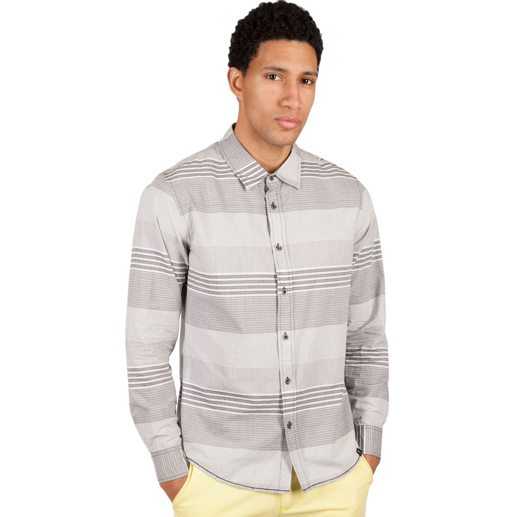 Marc ecko slim fit long sleeve button front horizon shirt for Marc ecko dress shirts