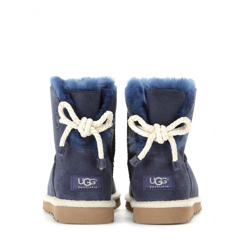 blue suede uggs