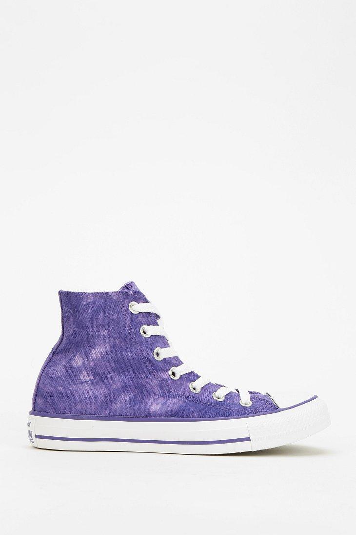 Converse Chuck Taylor Tiedye Womens Hightop Sneaker In