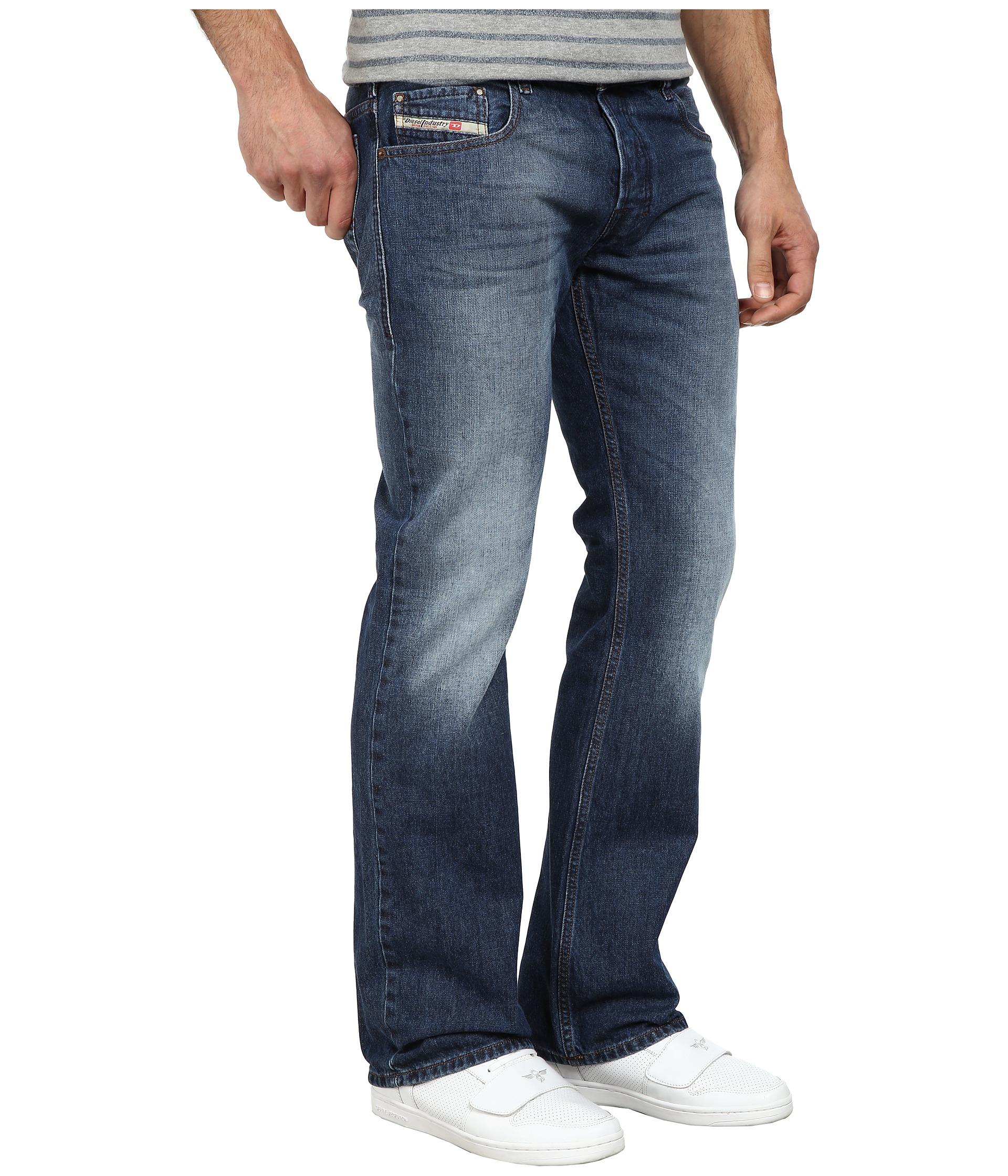 1be5c0b8 DIESEL Zatiny Trousers 842c in Blue for Men - Lyst