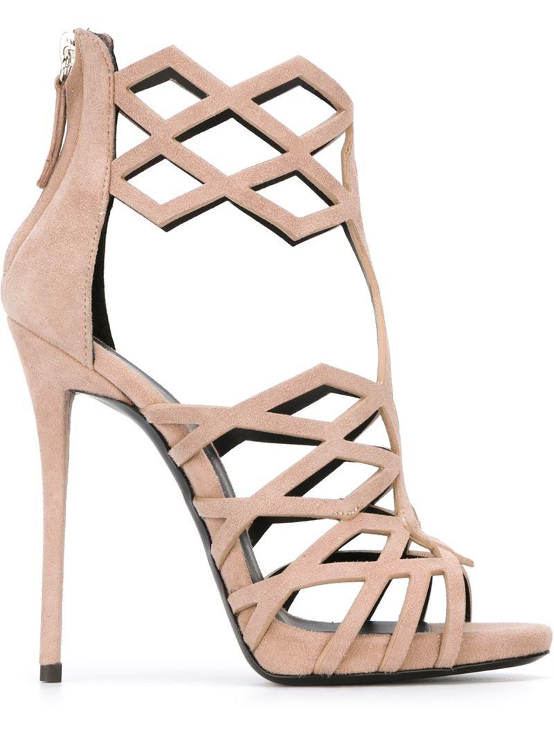 cbb4cc88d55 ... spain lyst giuseppe zanotti raquel sandals in natural 69eca b156e