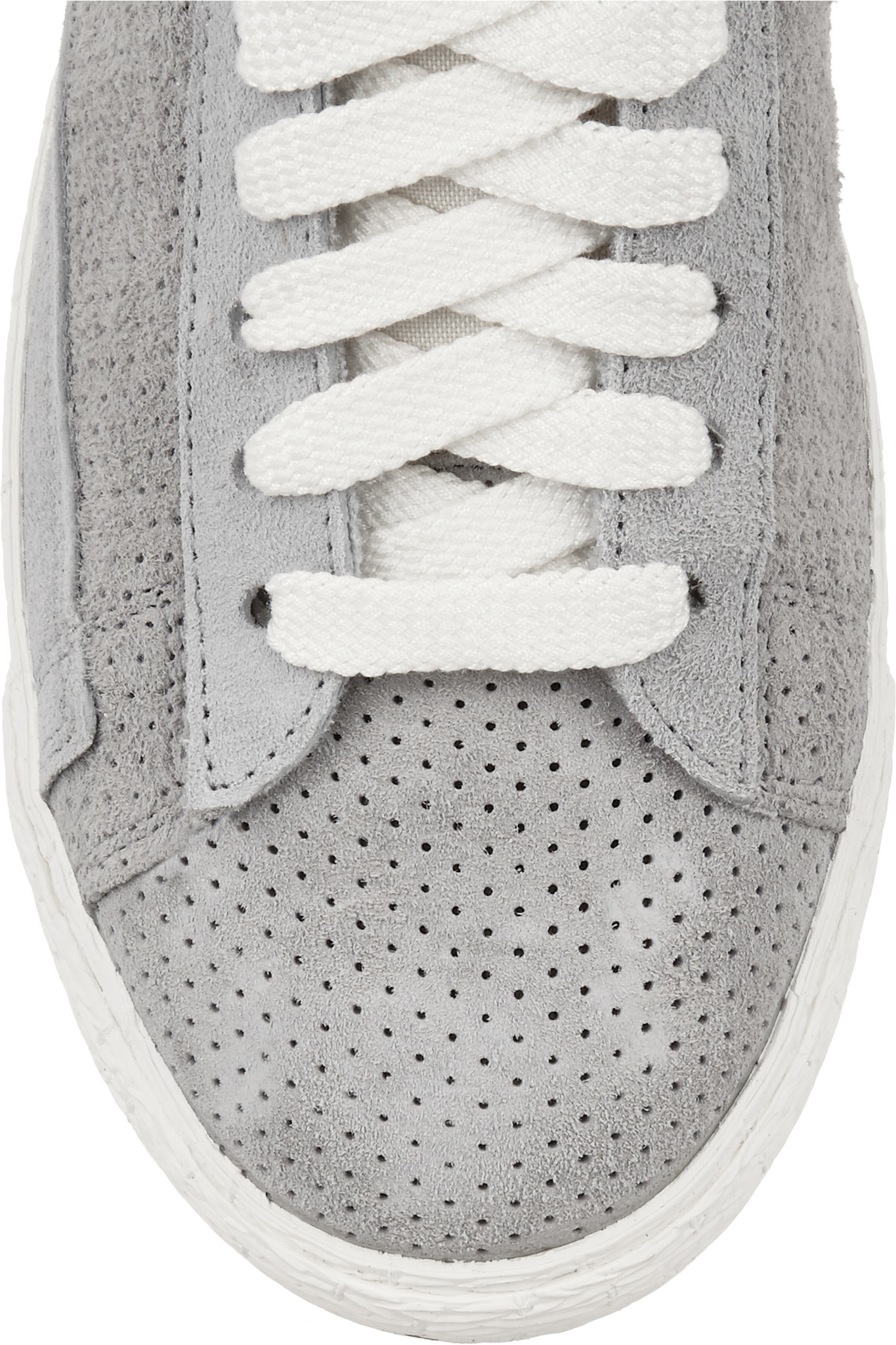 Nike | Blazer perforated suede high top sneakers | NET A