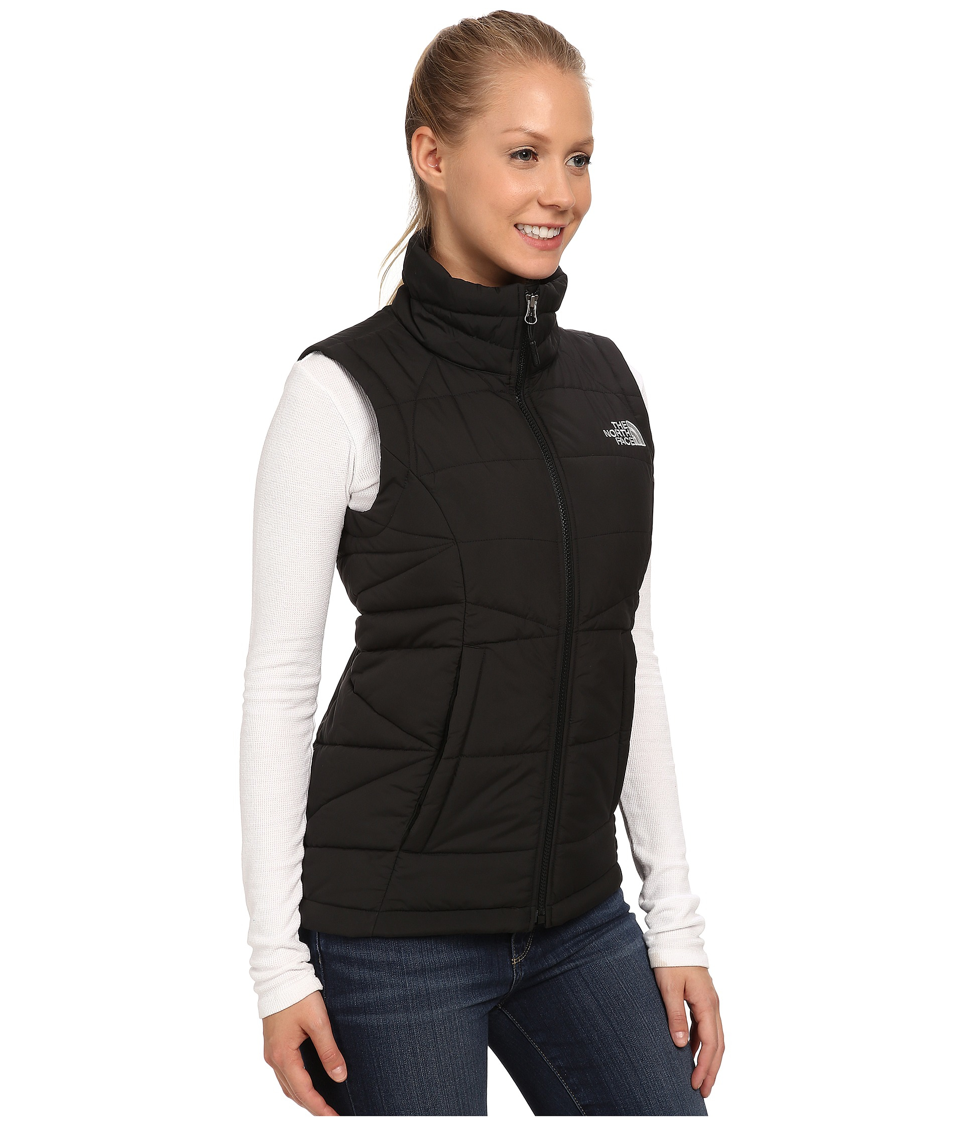 39409a3264d22 The North Face Roamer Vest in Black - Lyst